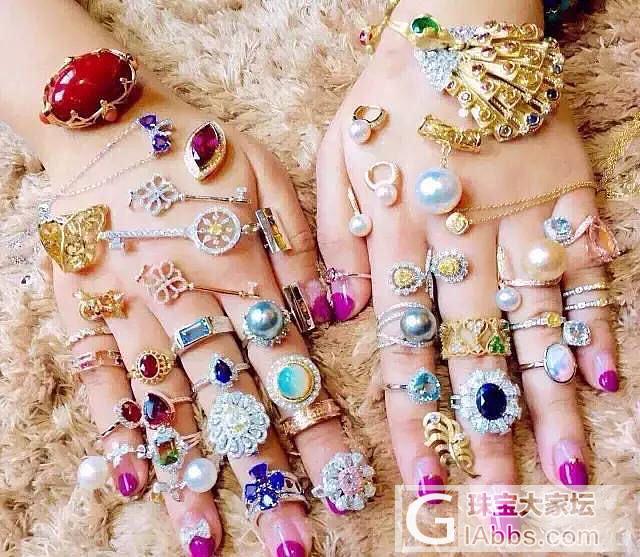 走不完的路,拔不完的草,暂时出坑,希望大家都能拥有美丽人生_彩色宝石名贵宝石戒指