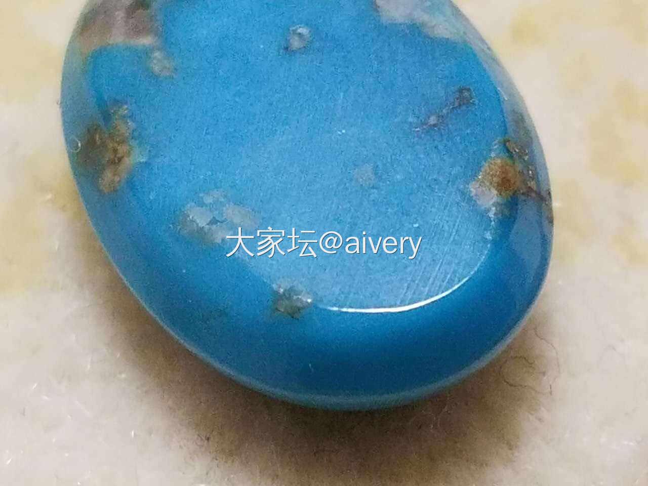 (松石)湖北云盖极品PK美松比斯比-..._松石求款式蛋面