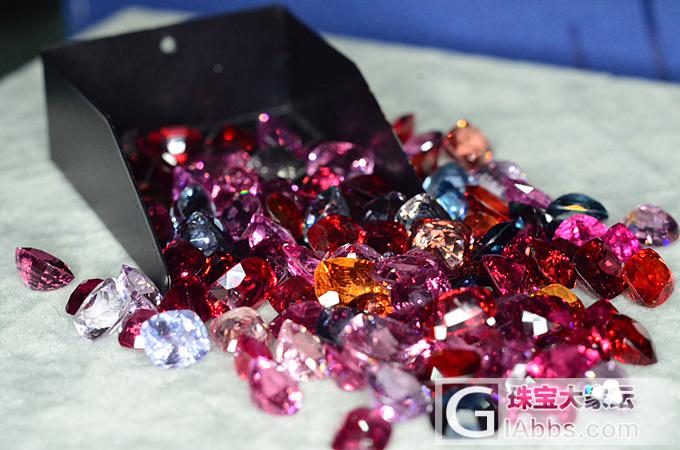 缅甸红粉色系尖晶石